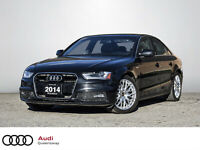 2014 Audi A4 2.0T Progressiv|No Accidents|6 Speed MT|Navi