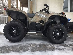 VTT Yamaha Grizzly camouflage