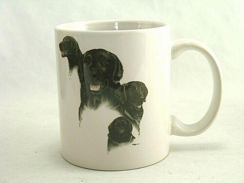 Flat Coated Retriever Dog Coffee Cup Mug