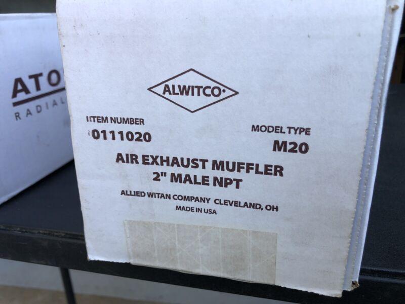 "Radial-flow Muffler 0111020/ Model Type M20/Air Exhaust Muffler ""2"
