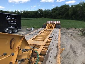 Fardier Manac 50 tonnes