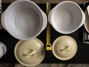 Set of Ceramic Casserole Dishes