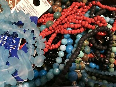 Bead Strands, Jewelry Supplies (Blue Moon/Bliss/Darice) - Choose or Buy the (Blue Moon Bead Strands)