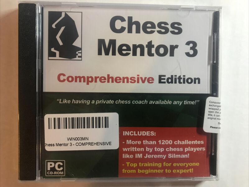 Chess Mentor 3 Comprehensive Edition CD-Rom
