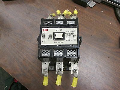 Abb Size 4 Contactor Eh-150 120v Coil 135a 600v