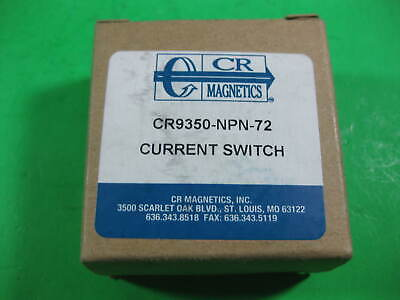 Cr Magnetics Current Switch -- Cr9350-npn-72 -- New