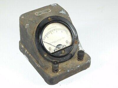 Vtg Stansi Standard Science Hoyt Electrical 582 Volts Dc Test Meter Gauge Tool