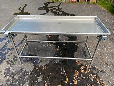 Advance Tabco Sr-72 Stainless Steel Sorting Table 30 X 72 Used