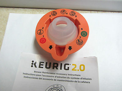 Keurig 2.0 Brewer Top Needle Cleaning Maintenance Accessory K250 K350 K450 K575