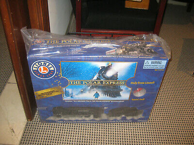 Deluxe Lights Sounds Collectible Lionel The Polar Express Christmas Train Set G