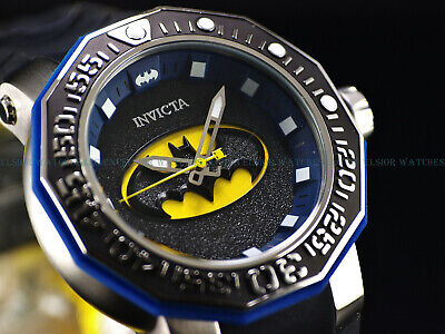 RARE! Invicta 52mm DC Comics BATMAN Sea Monster Limtd Ed Automatic Strap watch