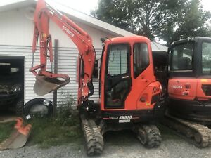 2017 Kubota Kx 91-3 with quick attach and thumb close to new