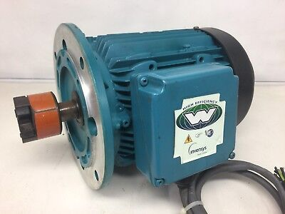 INVENSYS BROOK CROMPTON~W-DA112MS-D ELECTRIC AC MOTOR~ONTARIO, CALIF.