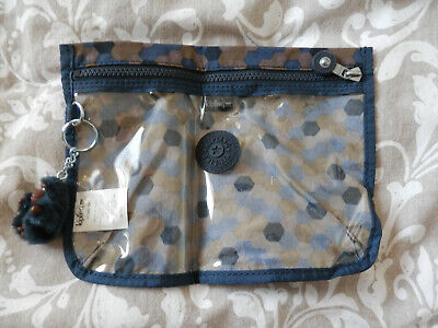 Kipling zipped pouch with Don monkey