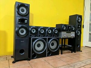 Sony 7.2 Home Theatre System with two Subwoofers at throw away price