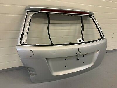 Mercedes Benz C Klasse T S204 Heckklappe hinten Kofferraumklappe Silber Kombi