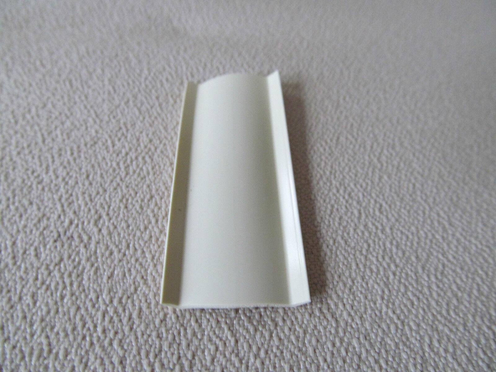 1 colonial white 35 ft vinyl insert molding trim screw for Colonial trim molding