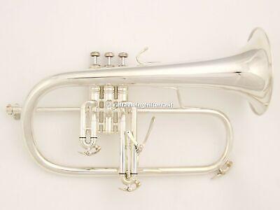 24K Gold Rim /& Cup Bach Flugelhorn Mouthpiece 1D