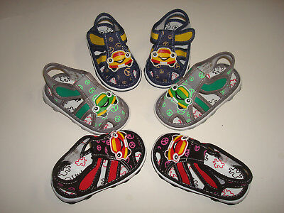 Boys Baby & Toddler Cute Style Comfortable Sandals Squeaky Canvas Shoes B1(Sale)