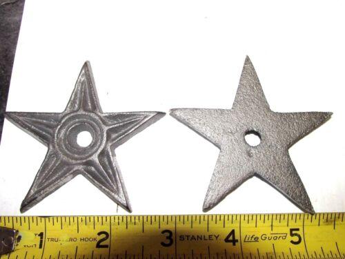 20  CAST IRON  STAR , 3 INCH   WALL & BARN & CRAFT , FENCE & GARDEN