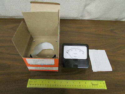 Simpson Volt Rectangle Panel Meter Model 59 Ac Volts 0-150 New