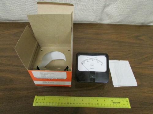 Simpson Volt Rectangle Panel Meter Model 59  AC Volts 0-150 New