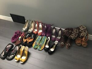 Size 6 ladies shoes and sandals