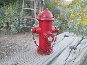 Fire-Hydrant-Metal-Bank-Firefighter-garage-Fire-Department-shop-man-cave-IAFF