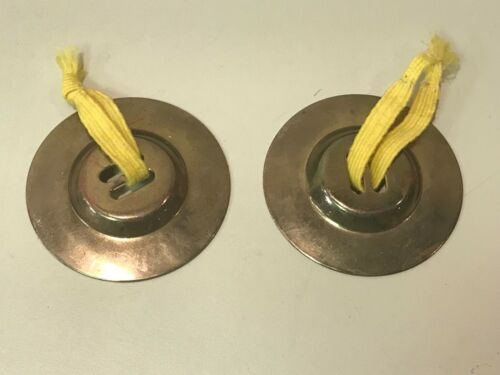 Small finger cymbals - mini percussion instrument