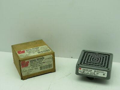 Federal Signal 350-240-30 Vibratone Horn 240v 100 Db Model 350 Gray