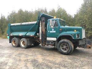 International Tandem Dump Truck