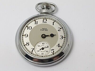 Smiths Empire Sub-Dial Pocket Watch for Repair / Spares, Vintage Pocket Watch