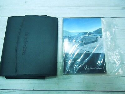 2016 MERCEDES BENZ C-CLASS COUPE OWNERS MANUAL WITH CASE NEW