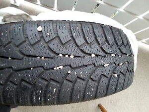 """16 inch set of 4 winter tires""! Edmonton Edmonton Area image 1"