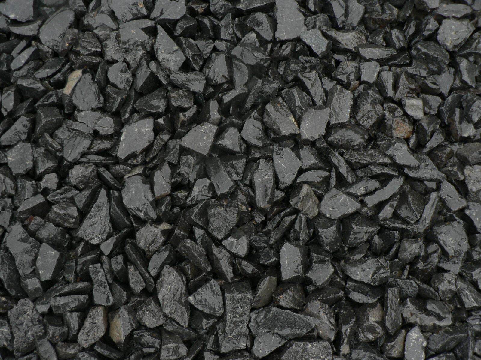 1000 kg basalt zierkies gartenkies splitt anthrazit schwarz splitt garten eur 178 00. Black Bedroom Furniture Sets. Home Design Ideas