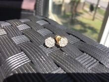 1ct total yellow 18ct gold diamond earrings Blacktown Blacktown Area Preview