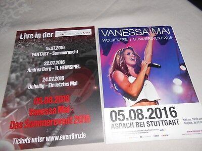 VANESSA MAI - Wolkenfrei  Flyer Neu Postkartengröße