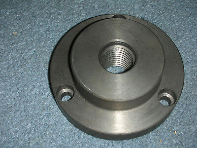 New Atlas Craftsman 6 Inch Lathe 1-8 3 Hole Backing Plate For 4 Inch Chucks