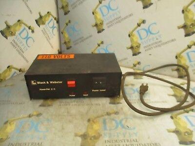 Air Hydraulics Black Webster Power Pak 24 110 V Power Supply