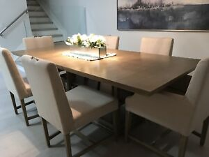 Dining Table & 6x Matching Chairs