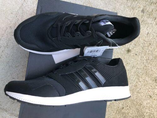 Adidas Men Athletic Sneaker Black Trainer Running Shoe Equipment Training 9