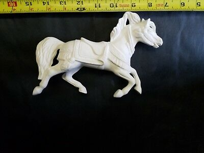Carousel Horse Ready to Paint, Unpainted, You Paint Ceramic Bisque