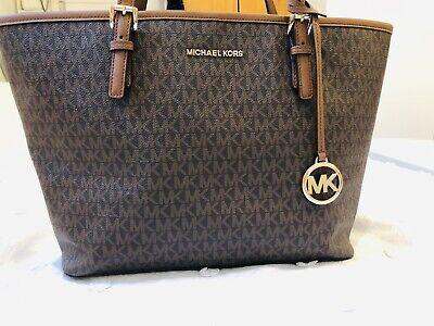 Original Michael kors Brown Leather Bag Slighty Used!