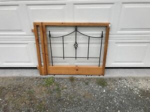 """Home made gate 31"""" high - between 34"""" & 39"""" wide"""