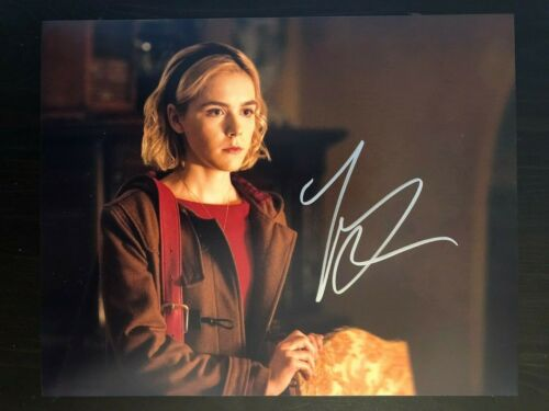 KIERNAN SHIPKA - SIGNED AUTOGRAPH 8X10 PHOTO - CHILLING ADVENTURES OF SABRINA 2