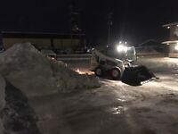 Snow removal and sanding services in Edson