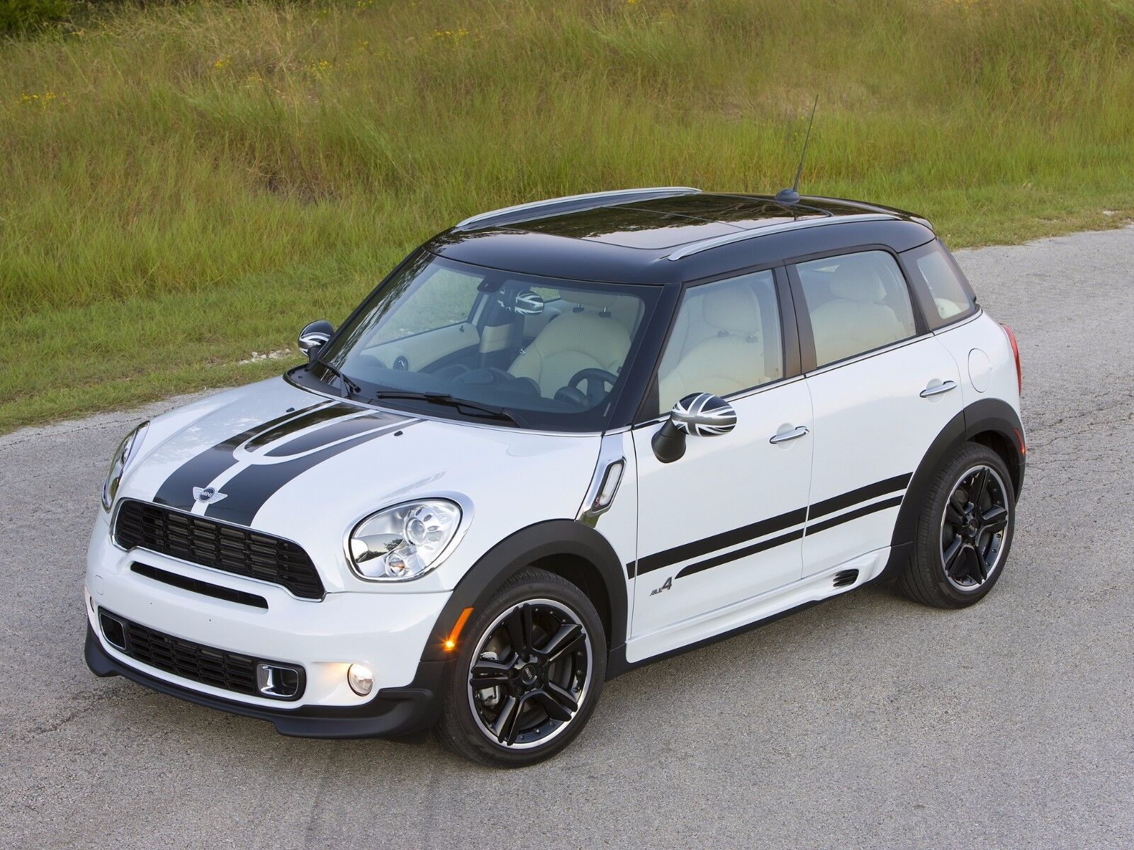 mini cooper s countryman all4 r60 viper stripe decal and. Black Bedroom Furniture Sets. Home Design Ideas