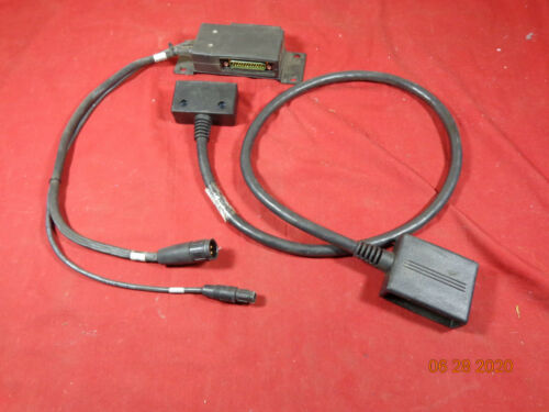 MACOM Harris GE M7100 VHF mobile Radio remote Cable jumpers CA101819V4R4A  (2)