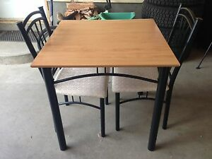 Dinette table and chairs