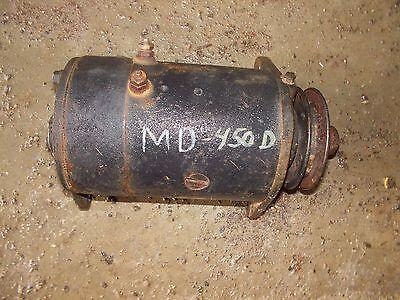 Farmall Ih M 400 450 Diesel Tractor 6v Generator Belt Drive Pulley